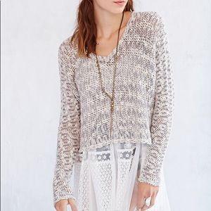 Ecote Virtual Insanity Cropped Sweater
